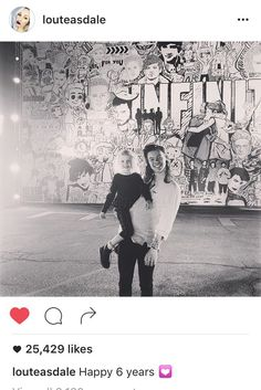 Lou Teasdale posted this picture of Harry and Lux on Instagram!