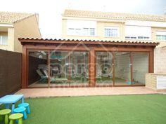 Barbacoa, Pallet Furniture, Backyards, Porches, Exterior, Outdoor Structures, Outdoor Decor, House, Home Decor