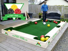 Foot-Pool, Pool Ball, Snook Ball, Football Pool. Manufactured in Ireland…