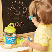 Some really neat play dough and painting supplies in this Preschool Craft Collection event on #zulily today!
