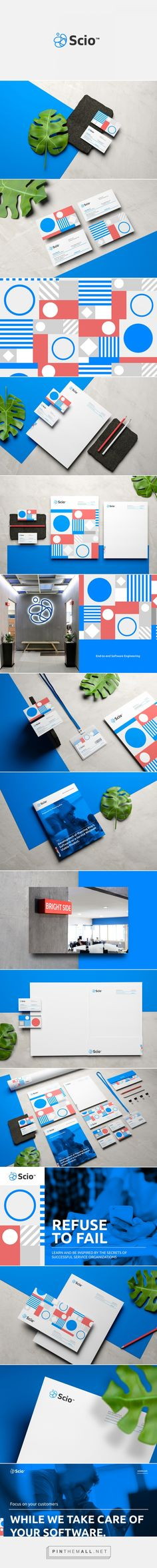 Scio Software Development Company Branding by Menta Picante | Fivestar Branding Agency – Design and Branding Agency & Curated Inspiration Gallery
