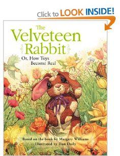 The Velveteen Rabbit: Amazon.co.uk: Margery Williams, Don Daily: Books
