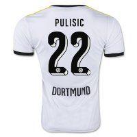 Borussia Dortmund PULISIC 22 2015-16 Season Third Soccer Jersey