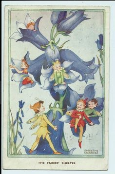 The Fairies' Shelter ~ Gladys Checkley