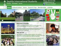Seattle Webdesign - Seattle International Students