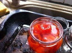 Picture of Making the Sweet Brine Pickled Pepper Recipe, Peppadew Peppers, Pepper Seeds, Stuffed Sweet Peppers, Secret Recipe, Copycat Recipes, Pickles, Healthy Snacks, Tasty