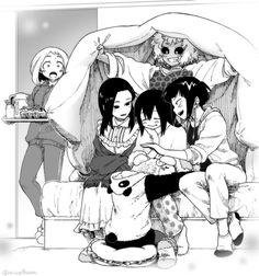 Boku no Hero Academia || Uraraka Ochako, Momo Yaoyorozu, Ashido Mina, Tsuyu Asui, Tooru Hagakure, Kyouka Jirou.