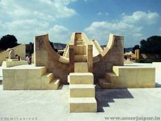 zodiacal circle at jantar mantar jaipur for more info go to www.in Rajasthan India, Jaipur, Monumental Architecture, Jantar Mantar, Virtual Travel, Sundial, Tourist Places, Global Warming, World Heritage Sites