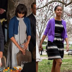 13 Photos That Prove Malia Obama Is Slowly Morphing Into Michelle: It's a scary moment when you look down at your outfit only to realize, wait — wait a minute — you're dressed just like your mom.