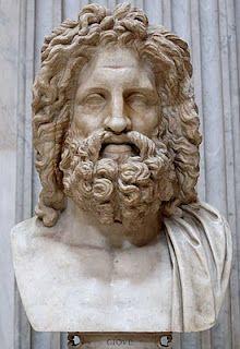 Bust of Zeus, Otricoli. (Sala Rotonda, Museo Pio-Clementino, Vatican).