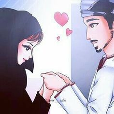 Want Powerful Islamic Wazifa To Get Husband In Control then Call Molvi Wahid Ali Khan Ji. Love Cartoon Couple, Cute Couple Art, Couple Pics, Cute Muslim Couples, Cute Couples, Muslim Couple Photography, Islamic Cartoon, Anime Muslim, Hijab Cartoon