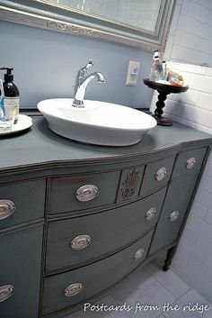 buffet to bath vanity