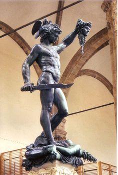 Perseo de Benvenuto Cellini