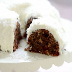 Rich rum fruitcake bundt cake with coconut cream cheese icing, using Captain Morgan Spiced Rum Rum Recipes, Cake Recipes, Dessert Recipes, Desserts, Jamaican Recipes, Savarin, Spiced Rum, Cream Cheese Icing, Christmas Baking