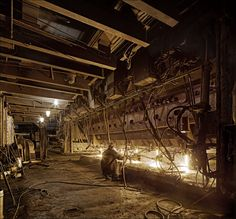 DNEPROVSKIY DZERZHINSKIY METALLURGICAL PLANT, DNEPRODZERZHINSK Alien Planet, Use Of Technology, Industrial Photography, Old Pictures, Science Fiction, Planets, Medieval, Inspirational, Abstract