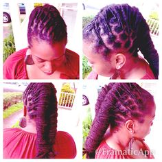 Loc Hairstyle View#2
