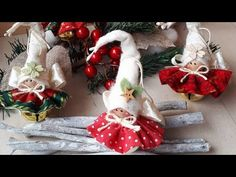 Easy Christmas Diy Tutorial facilissimo per Natale – Arts And Crafts – All DIY Projects Christmas Fairy, Christmas Makes, Felt Christmas, Christmas Angels, Simple Christmas, Christmas Tree Ornaments, Diy Xmas, Easy Christmas Crafts, Christmas Projects