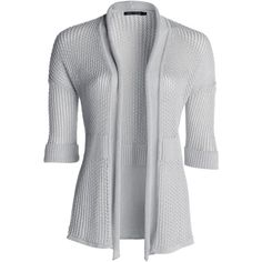 NIC+ZOE Soft Mesh Cardigan and other apparel, accessories and trends. Browse and shop related looks.