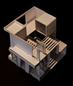 Final MODEL (Updated) #architecture #design #space #cube #model #grid
