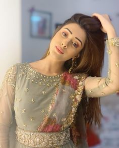 Indian Long Dress, Indian Gowns, Indian Outfits, Stylish Girls Photos, Stylish Girl Pic, Hiba Nawab, Lehenga Saree Design, Simple Pakistani Dresses, Wedding Couple Poses Photography