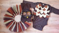 Owl Costume Halloween costume baby girl costume baby by MizThings