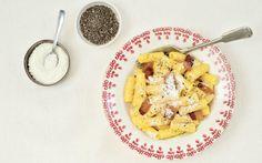 Rigatoni, Cauliflower, Macaroni And Cheese, Dinner, Vegetables, Ethnic Recipes, Pasta Carbonara, Food, Alternative