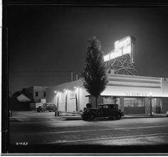 THE WESTSIDE | BEVERLY HILLS:  Lawry's - Beverly Hills, 1938.  via Maria Mancini from vintage - los angeles - hollywood.