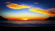 #Sunset #beach #corse #porto
