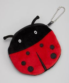 This Ladybug Coin Purse by Bubbly Bows is perfect! #zulilyfinds