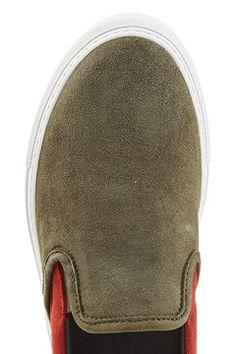 Suede Slip-On Sneakers  | DIEMME