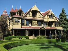 AVALON BALLROOM PUPPET SHOW AND ROAD TRIP TO THE WINCHESTER MYSTERY HOUSE