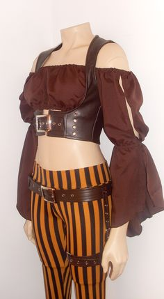 Great Female Pirate Costume Steampunk Pirate by annaladymoon.deviantart.com on @deviantART