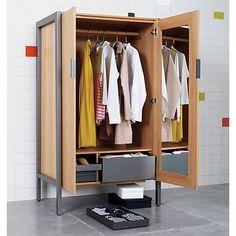 a symmetric closet in bedroom furniture cb2 cb2 bedroom furniture