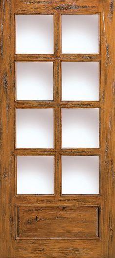 Western Door with 8 Lites
