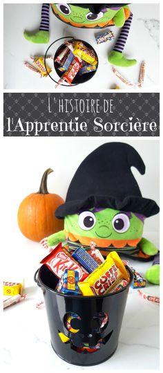 Laissez-moi vous raconter l'histoire de l'Apprentie Sorcière qui avait besoin de bonbons #magie #sorcière #halloween Bonbon Halloween, Theme Halloween, Decor, Gummi Candy, Decoration, Decorating, Dekorasyon, Dekoration, Home Accents