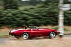 Jaguar E-type Speedster!!!