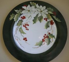 Christmas China, Christmas Dishes, Christmas Kitchen, Country Christmas, Christmas Art, Christmas Projects, Christmas Themes, Christmas Wreaths, Christmas Decorations