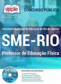 Apostila Concurso SME RIO Professor de Educação Física (Download, PDF, Digital, Impressa)