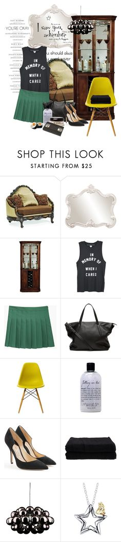 """""""Serendipity"""" by aryana ❤ liked on Polyvore featuring Howard Elliott, Howard Miller, Charles Anastase, Witchery, Vitra, philosophy, Paul Andrew, Home Source International, WALL and Disney"""