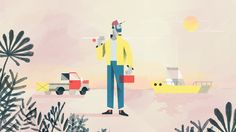 """""""Kick Plastic"""" by Giant Ant  http://motionographer.com/2016/07/27/giant-ant-three-films-three-good-causes/"""