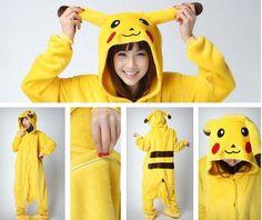 Pyjama Pikachu / Adult / S /20 euros
