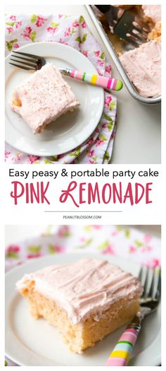 This easy strawberry lemonade cake is the perfect portable dessert for your next potluck party or backyard barbecue. Tastes even better cold, right out of the fridge but is safe to serve at room temperature.
