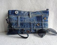Japonais noeud bracelet pochette mini sac pochette étui sac à