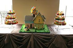 """Wedding Cake """"Up"""""""