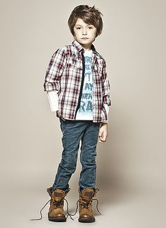 French fashion lookbook from IKKS | Lucky Boy pictures