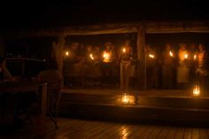 Neil Steedman and the staff at Mombo Camp are still glowing after a magical Earth Hour on Saturday night.