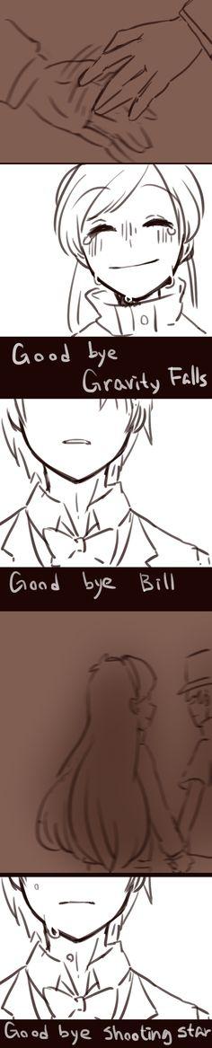Art by 黑石川 (@wsx57523) | Mabill — Goodbye | Twitter