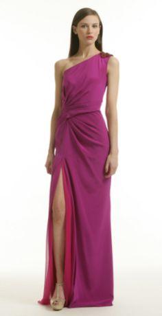 BADGLEY MISCHKA - Ombre Burst Gown - Designer Dress hire