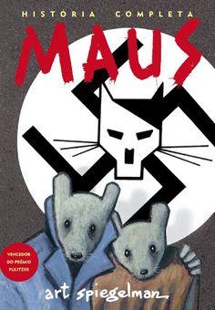 Maus, de Art Spiegelman, na loja Livros da Amazon.com.br