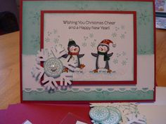 Penguins Christmas by cherylmoody2 - Cards and Paper Crafts at Splitcoaststampers